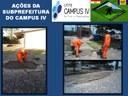 Construção de rampas para acessibilidade na unidade de Mamanguape