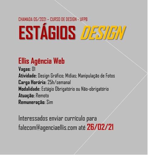 Estágio Ellis Agência Web
