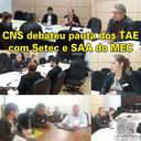 Fotos da CNSC com o MEC