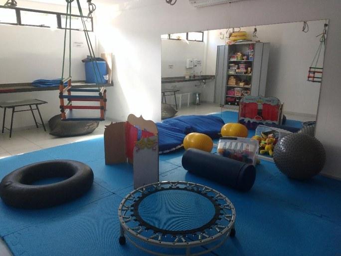 Sala de estimulação sensorial