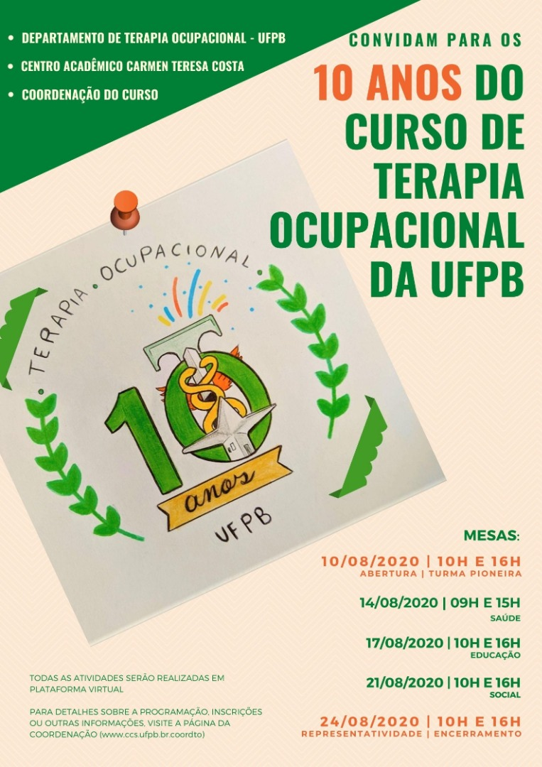 TO UFPB 10 ANOS