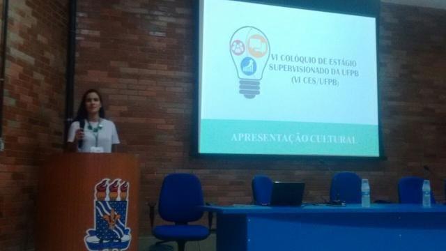 VI CES/UFPB: Abertura oficial do evento