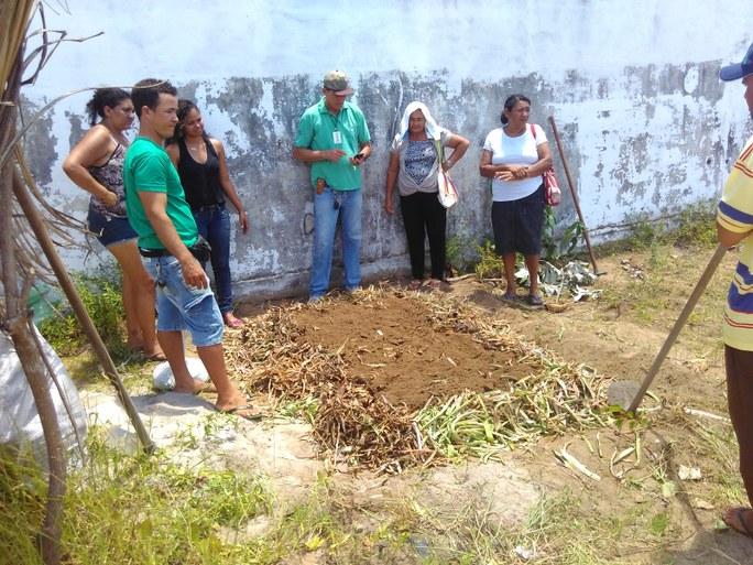Oficina prática de compostagem com Luis Sena - Campesinato em Movimento