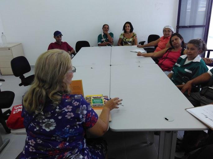 Oficina de economia solidária com Regina Bonfá - Campesinato em Movimento