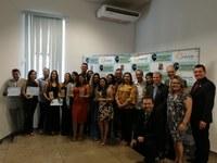 Inventores premiados na edição especial do 5º Prêmio de Inovação.