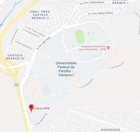 Universidade Federal da Paraíba - Via Expressa Padre Zé, 643-923 - Castelo Branco, João Pessoa - PB, 58033-455