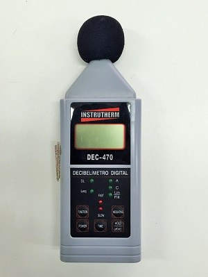 Equip. - Decibelímetro DEC 470