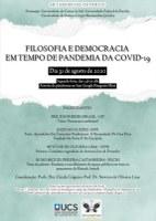 Filosofia e Democracia em tempo de pandemia covid-19