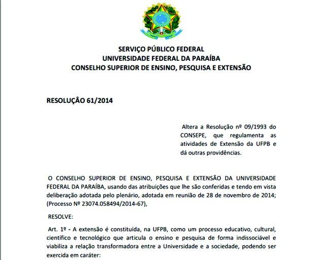Resolução 61 2014 1