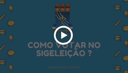 Como votar no SigEleição para Consulta Prévia